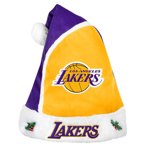 Los Angeles Lakers Basic Santa Hat - 2015