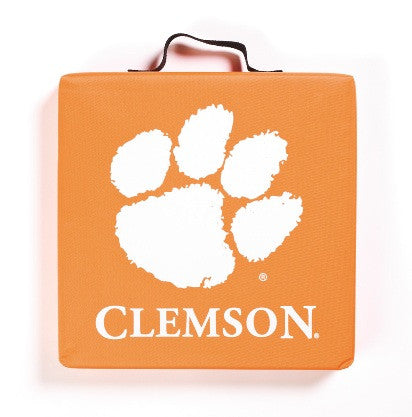 NCAA Officially licensed products Clemson Tigers Seat Cushion You  can now sit comfortably at the game with this  seat cushi