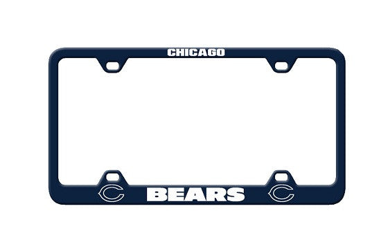 NFL Officially licensed products Chicago Bears Laser License Plate Frame This officially licensed license plate frame is mad