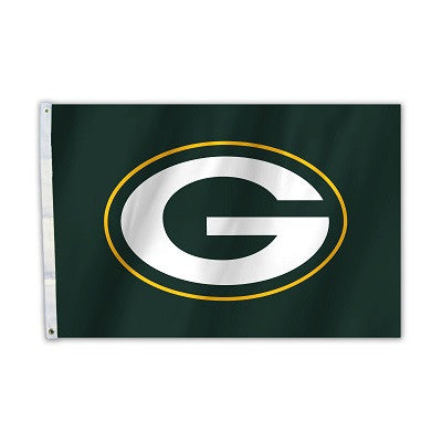 NFL Officially licensed products Green Bay Packers 2 Ft. X 3 Ft. Flag W/Grommetts Show everyone that you are a die-hard fan