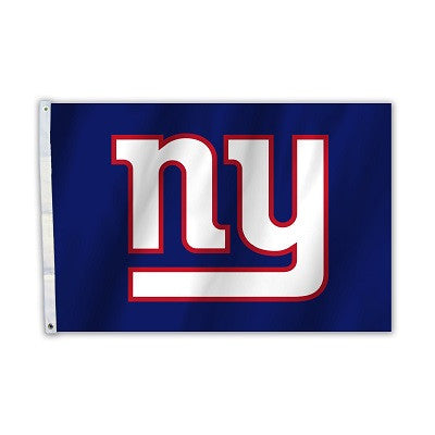 NFL Officially licensed products New York Giants 2 Ft. X 3 Ft. Flag W/Grommetts Show everyone that you are a die-hard fan by