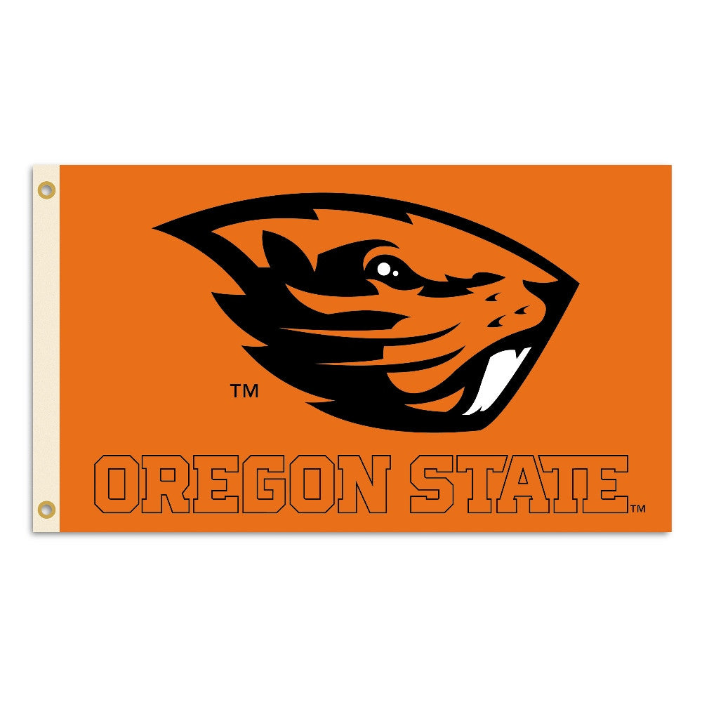 NCAA Officially licensed products Oregon State Beavers 2-Sided 3 Ft. X 5 Ft. Flag W/Grommets Show your school spirit by hang