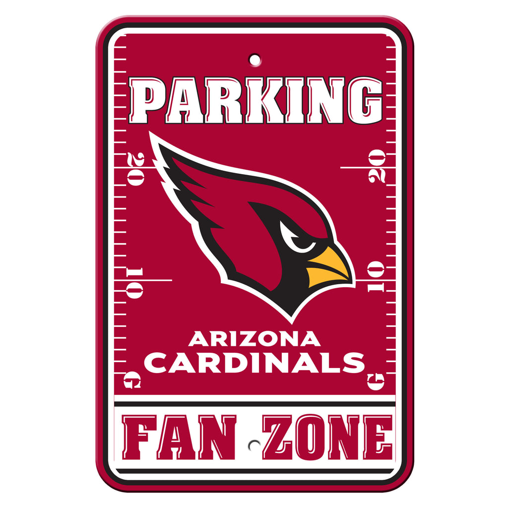NFL Officially licensed products Arizona Cardinals Plastic Parking Sign - Fan Zone Show your team spirit proudly with this 1