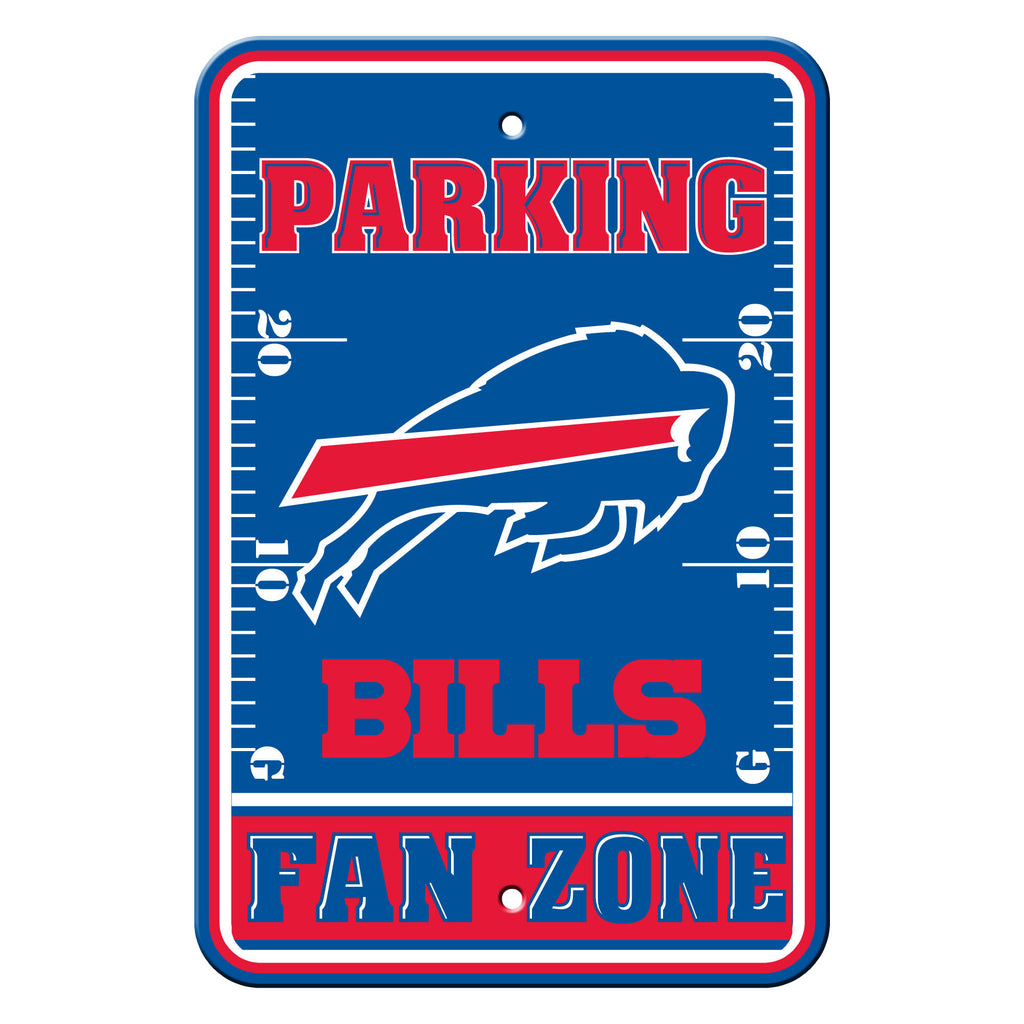 "NFL Officially licensed products Buffalo Bills Plastic Parking Sign - Fan Zone Show your team spirit proudly with this 12"" X"