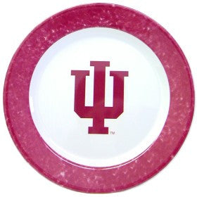 Indiana Hoosiers 4 Piece Dinner Plate Set