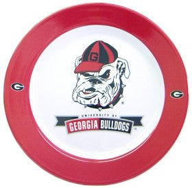 Georgia Bulldogs 4 Piece Dinner Plate Set