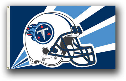 NFL Officially licensed products Tennessee Titans 3 Ft. X 5 Ft. Flag W/Grommetts Show everyone that you are a die-hard fan b