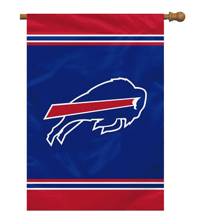 "NFL Officially licensed products Buffalo Bills House Banner 28"" x 40"" 1- Sided Show your team spirit proudly with this 28"" x"