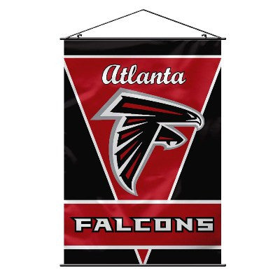 NFL Officially licensed products Atlanta Falcons Wall Banner Support your favorite NFL team at home or in the office by hang