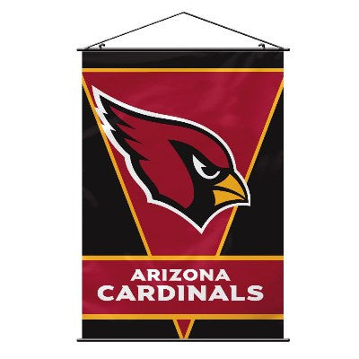 NFL Officially licensed products Arizona Cardinals Wall Banner Support your favorite NFL team at home or in the office by ha