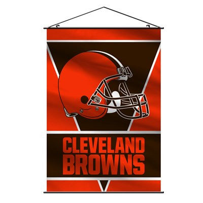 NFL Officially licensed products Cleveland Browns Wall Banner Support your favorite NFL team at home or in the office by han