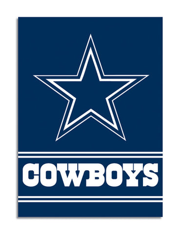 NFL Officially licensed products Dallas Cowboys 2-Sided 28 X 40 House Banner Support your favorite team by hanging up this t