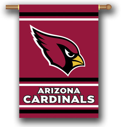NFL Officially licensed products Arizona Cardinals 2-Sided 28 X 40 House Banner Support your favorite team by hanging up thi
