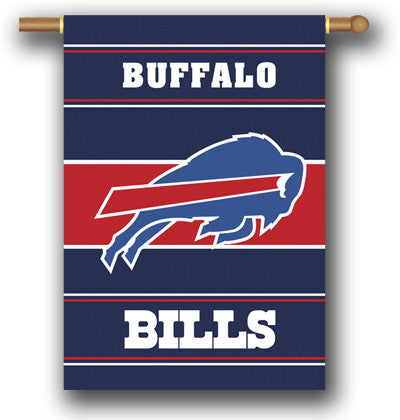 NFL Officially licensed products Buffalo Bills 2-Sided 28 X 40 House Banner Support your favorite team by hanging up this tw