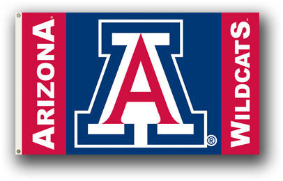 NCAA Officially licensed products Arizona Wildcats 3 Ft. X 5 Ft. Flag W/Grommets Show everyone that you are a die-hard fan b