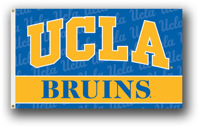 NCAA Officially licensed products Ucla Bruins 3 Ft. X 5 Ft. Flag W/Grommets Show everyone that you are a die-hard fan by han