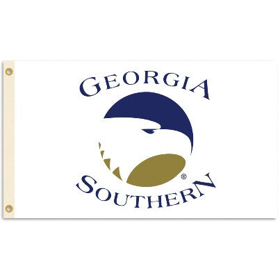 NCAA Officially licensed products Georgia Southern Eagles  3 Ft. X 5 Ft. Flag W/Grommets Show everyone that you are a die-ha