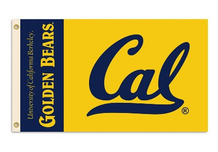 NCAA Officially licensed products Cal Berkeley Golden Bears 3 Ft. X 5 Ft. Flag W/Grommets Show everyone that you are a die-h