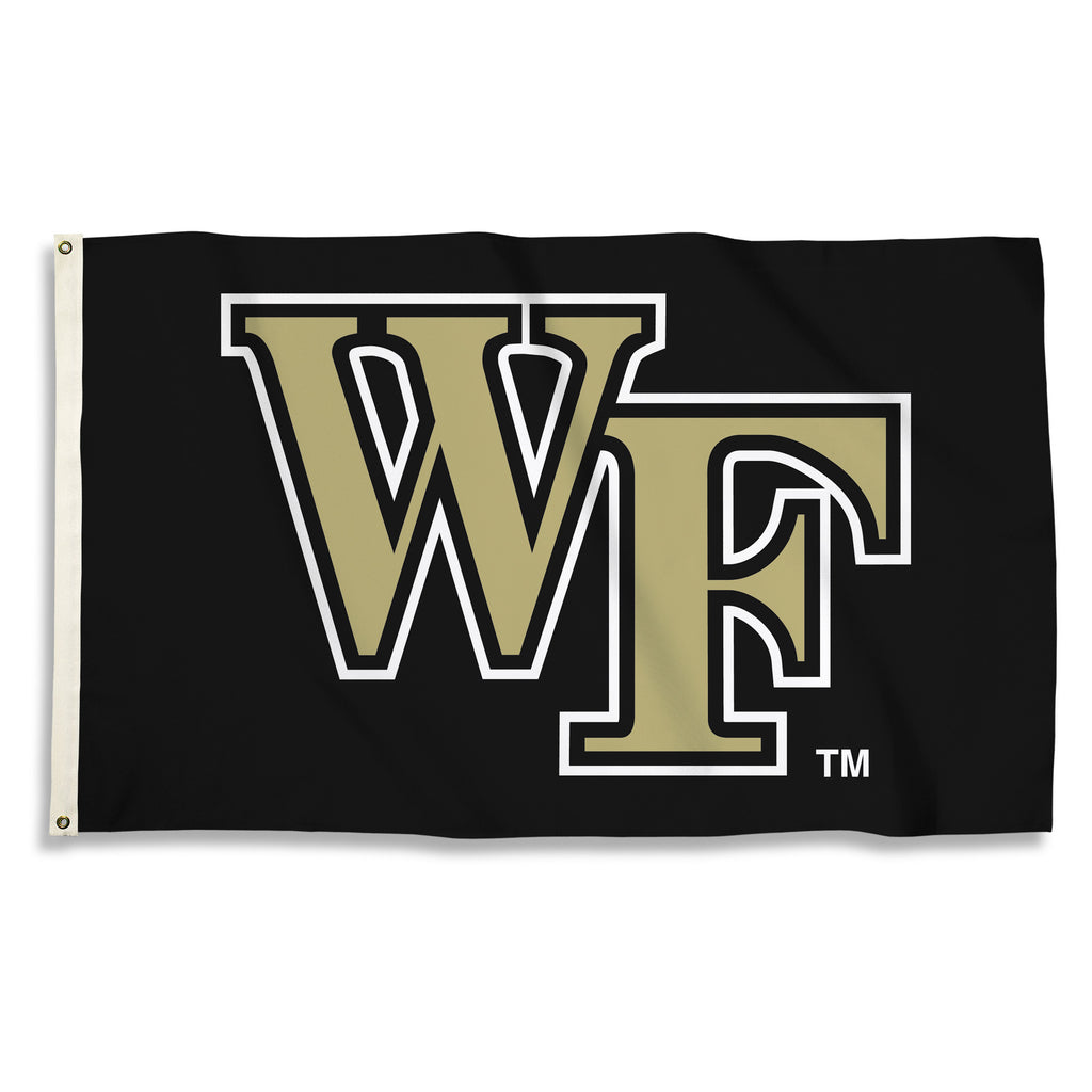 NCAA Officially licensed products Wake Forest Demon Decons 3 Ft. X 5 Ft. Flag W/Grommets Show everyone that you are a die-ha