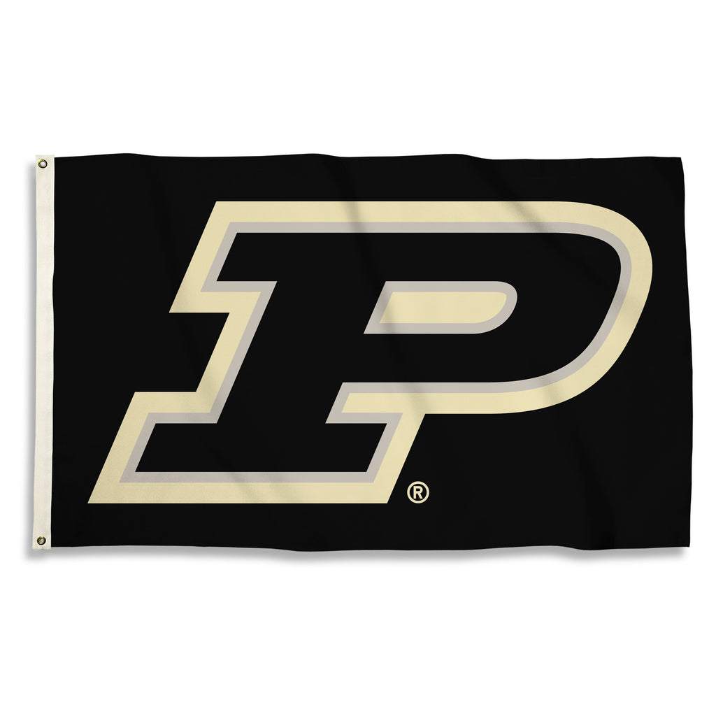 NCAA Officially licensed products Purdue Boilermakers 3 Ft. X 5 Ft. Flag W/Grommets Show everyone that you are a die-hard fa