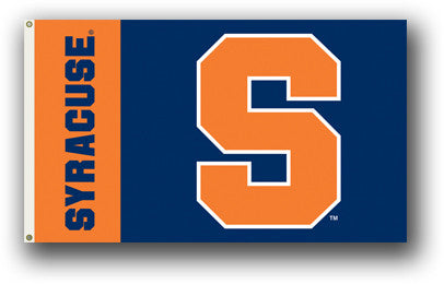 NCAA Officially licensed products Syracuse Orange 3 Ft. X 5 Ft. Flag W/Grommets Show everyone that you are a die-hard fan by