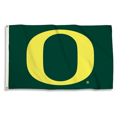 NCAA Officially licensed products Oregon Ducks 3 Ft. X 5 Ft. Flag W/Grommets Show everyone that you are a die-hard fan by ha