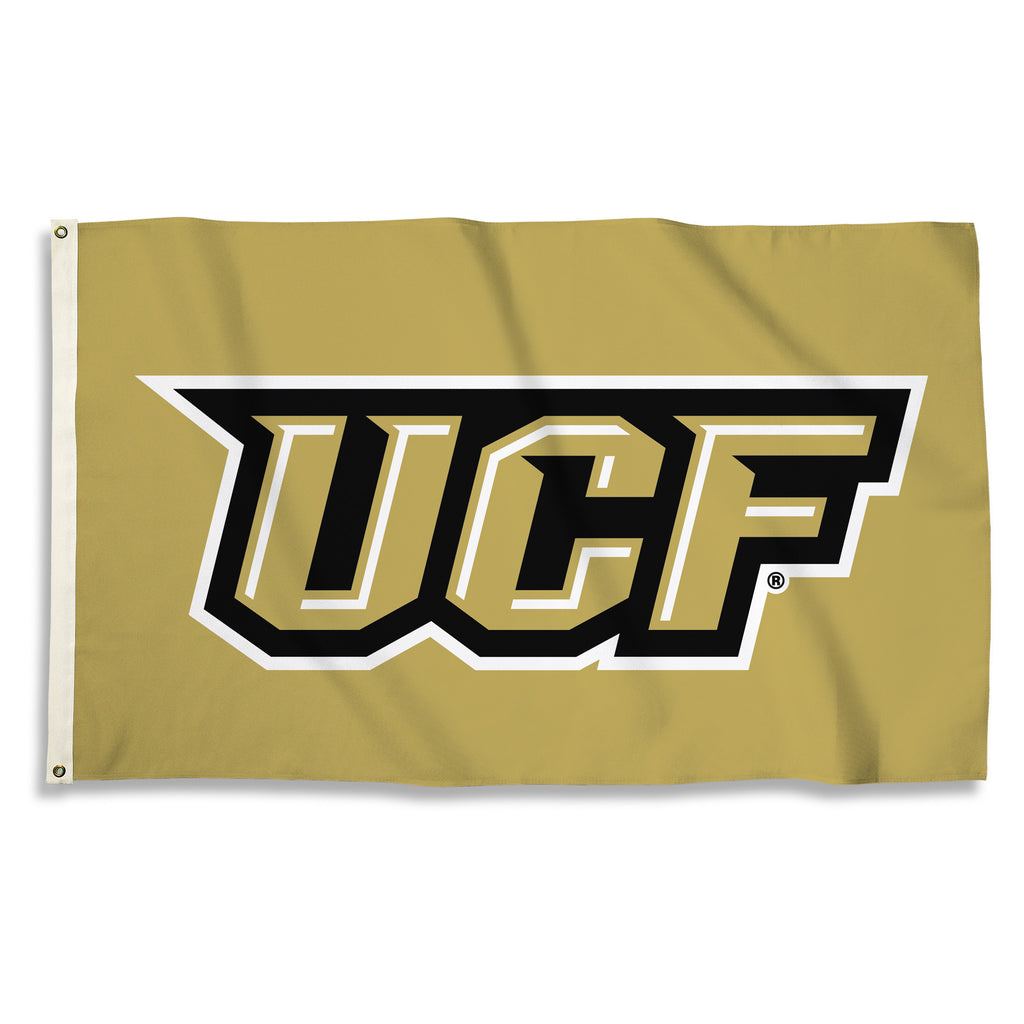 NCAA Officially licensed products Central Florida Golden Knights 3 Ft. X 5 Ft. Flag W/Grommets Show everyone that you are a