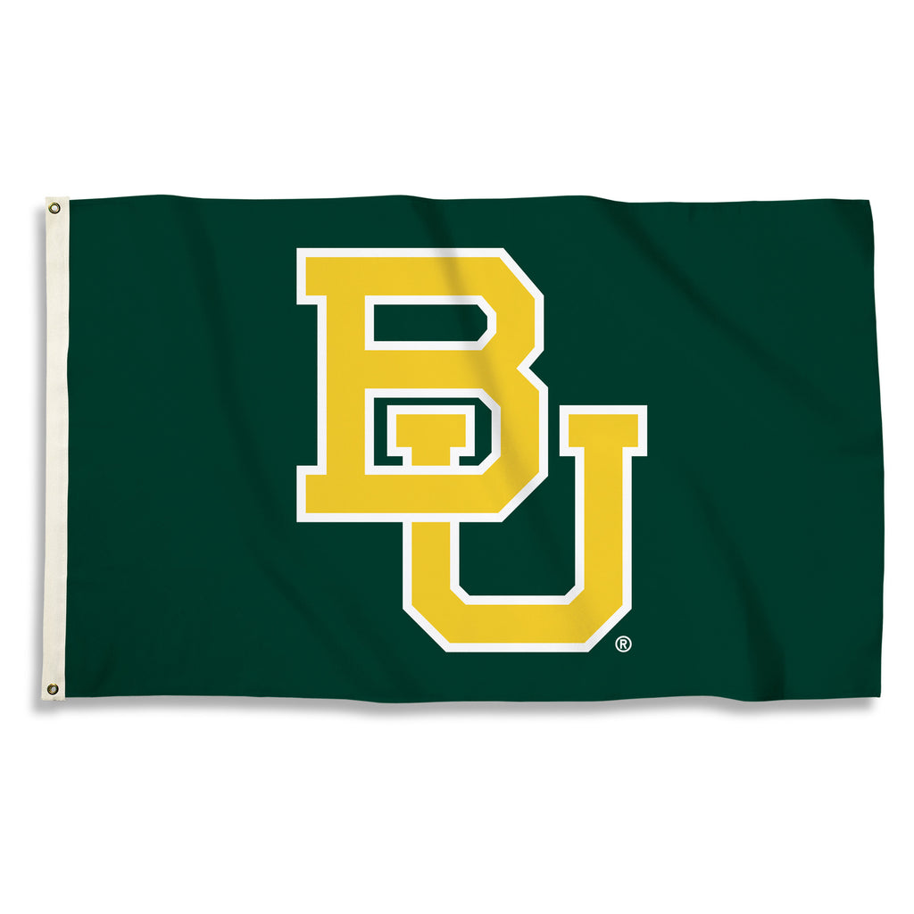 NCAA Officially licensed products Baylor Bears 3 Ft. X 5 Ft. Flag W/Grommets Show everyone that you are a die-hard fan by ha