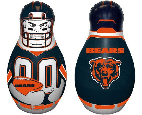 NFL Officially licensed products Chicago Bears Mini Tackle Buddy The Mini Tackle Buddy inflatable punching bag stands 12 inc