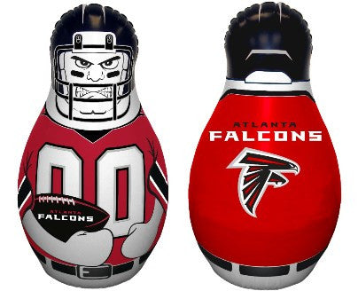 NFL Officially licensed products Atlanta Falcons Tackle Buddy The Tackle Buddy inflatable punching bag stands 40 inches tall