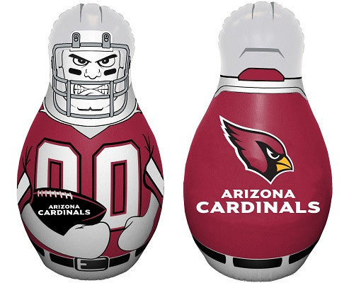 NFL Officially licensed products Arizona Cardinals Tackle Buddy The Tackle Buddy inflatable punching bag stands 40 inches ta