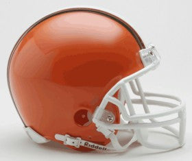 Cleveland Browns 1975-2005 Throwback Replica Mini Helmet w/ Z2B Face Mask
