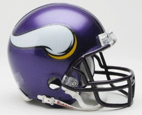 Minnesota Vikings 2006-12 Throwback Replica Mini Helmet w/Z2B Mask