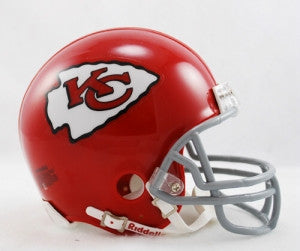 Kansas City Chiefs 1963-73 Throwback Replica Mini Helmet w/ Z2B Face Mask