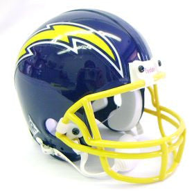 San Diego Chargers 1974-87 Throwback Replica Mini Helmet