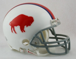 Buffalo Bills 1965-73 Throwback Replica Mini Helmet w/ Z2B Face Mask