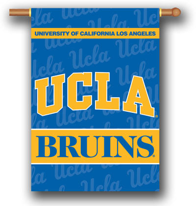 "NCAA Officially licensed products Ucla Bruins 2-Sided 28"" X 40"" Banner W/ Pole Sleeve Support your favorite team by hanging"
