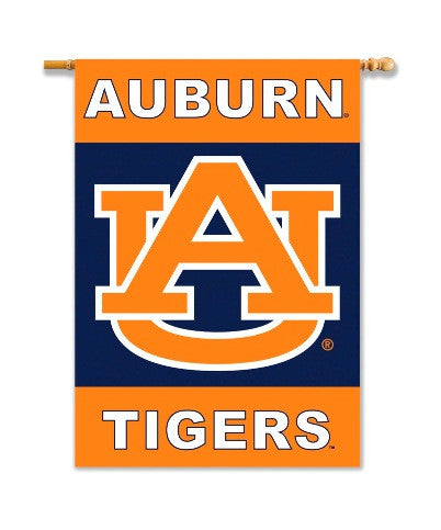 "NCAA Officially licensed products Auburn Tigers 2-Sided 28"" X 40"" Banner W/ Pole Sleeve Support your favorite team by hangin"