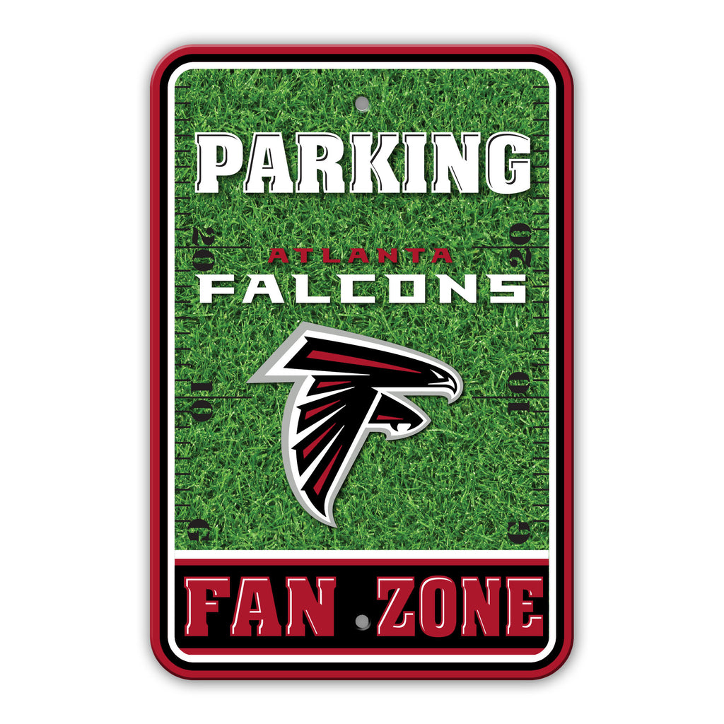 NFL Officially licensed products Atlanta Falcons Plastic Parking Sign - Field Zone Show your team spirit proudly with this 1