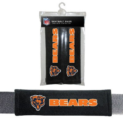 NFL Officially licensed products Chicago Bears Seat Belt Pad 2 Pack Show your team colors and stay comfortable with these se