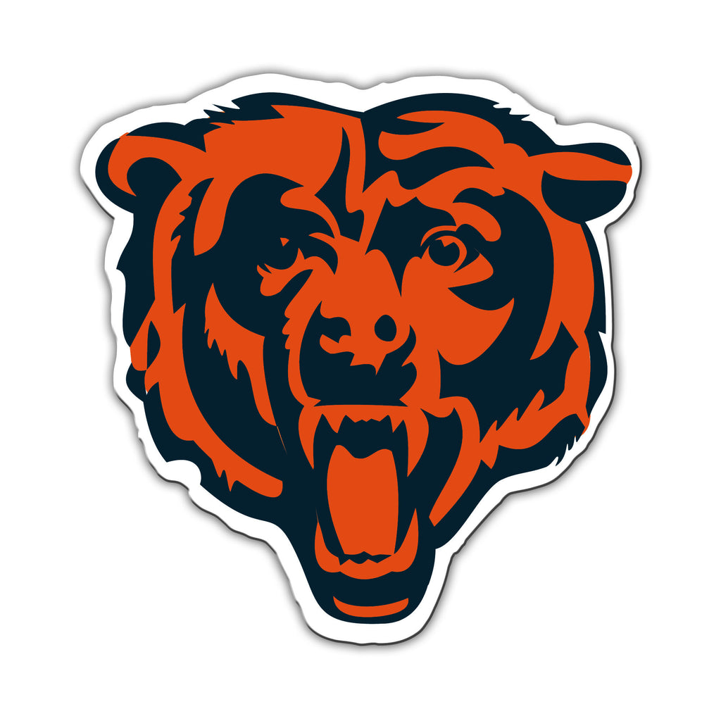 "NFL Officially licensed products Chicago Bears Vinyl Magnet  Show your team spirit proudly with this 12"" Vinyl Magnet. Each"