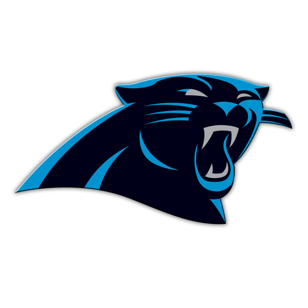 "NFL Officially licensed products Carolina Panthers Vinyl Magnet  Show your team spirit proudly with this 12"" Vinyl Magnet. E"