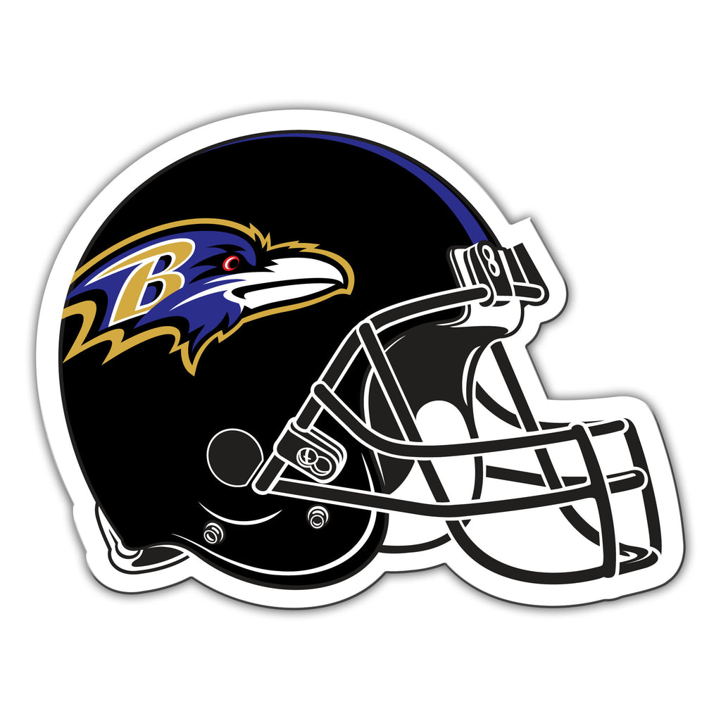 "NFL Officially licensed products Baltimore Ravens Vinyl Magnet  Show your team spirit proudly with this 12"" Vinyl Magnet. Ea"