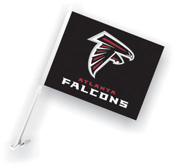 NFL Officially licensed products Atlanta Falcons Car Flag Show your team spirit proudly with this NFL car flag. Each 11-inch