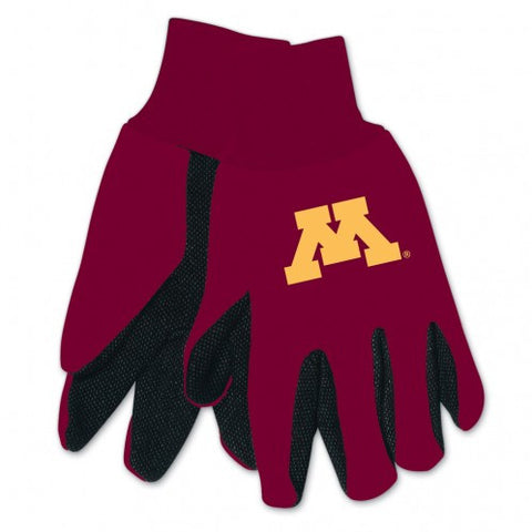 Minnesota Golden Gophers Two Tone Gloves - Adult Size