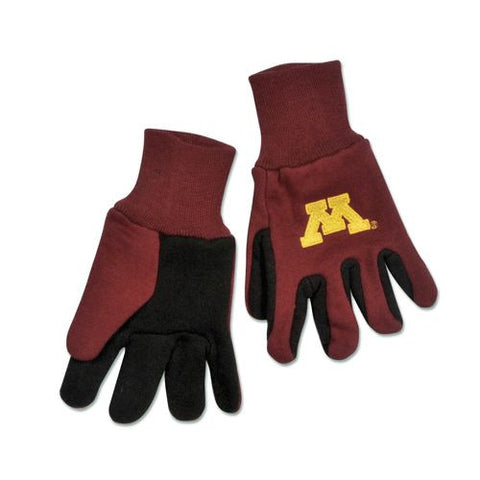 Minnesota Golden Gophers Two Tone Gloves - Youth