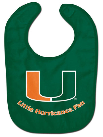 Miami Hurricanes Baby Bib - All Pro Little Fan