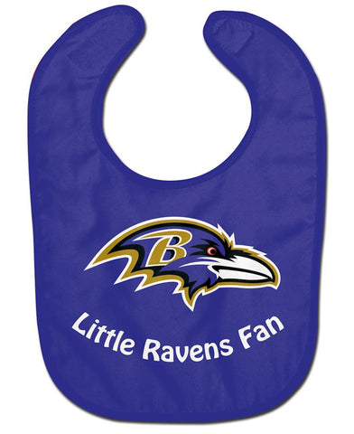 Baltimore Ravens All Pro Little Fan Baby Bib