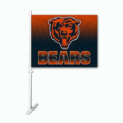 NFL Officially licensed products Chicago Bears Car Flag Show your team spirit proudly with this NFL car flag. Each 11-inch x