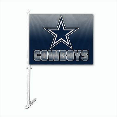 NFL Officially licensed products Dallas Cowboys Car Flag Show your team spirit proudly with this NFL car flag. Each 11-inch
